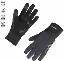 Tenn Unisex Protect Waterproof Breathable Winter Cycling Gloves - Black