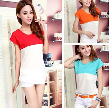 Blouse Shirt Vest Candy Color Fashion Summer New Korean Ladies Nice Tops