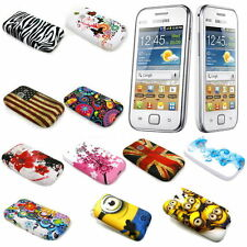 Pictorial Design Soft TPU GEL Phone Cover for Samsung Galaxy Ace Duos S6802