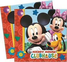 Mickey Mouse Playful Paper Party Napkins 20 - 120pk
