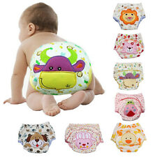 Animals Prints Baby Kids Toilet Pee Potty Training Pants Cloth Diaper Underwear