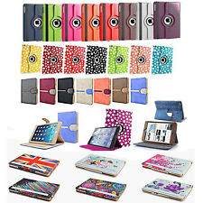 Wallet Designer Case Folio Cover For Apple iPad Air  5, iPad 2 3 4 & iPad Mini
