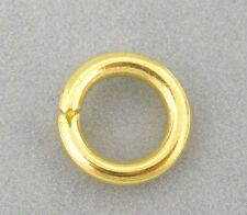 Wholesale HOT! Jewelry Gold Plated Open Jump Rings 8x1.5mm
