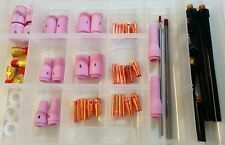 Pro Accessory Kit for WP9 & WP20 Tig Welding Torch + Tungstens & Gas Lenses