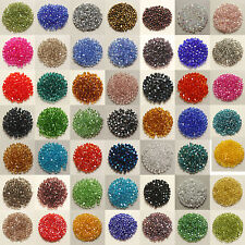 Free shipping 50pcs swarovski Crystal 6mm 5301# Bicone Beads, U Pick color