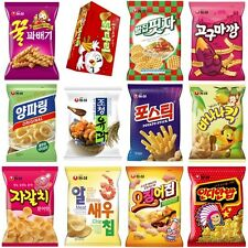 [Korean Snack] NongShim Korea Chips Crackers / Choose in 9 / Food / Snacks
