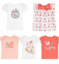 NWT Gymboree Cherry Blossom Collection Tops/Tees--12-18/18-24 Months 2T 3T 4T 5T