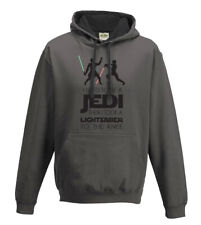 Men's I used to be a Jedi, Star Wars Funny Hoodie, Hooded Sweatshirt