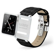 Real leather Watch Band For Apple iPod Nano iWatch With Stainless Steel buckle