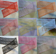 Wholesale 10yards embroidery lace ribbon colors can be selected