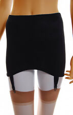 Black Control Girdle Shapewear Suspenders size 8 - 24 roll on type also in White