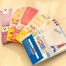 Cute Animal Memo Post It Notes Message Pad Label To Do List Sticker Notepad