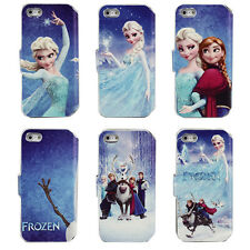 Cute Cartoon Image Folio PU Leather Flip Case Cover Kid Gifts For iPhone 5 5S 5G