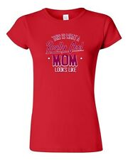 Junior This Is What A Really Cool Mom Looks Like Gift Novelty DT T-Shirt Tee