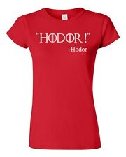 Junior Hodor TV Novelty DT T-Shirt Tee