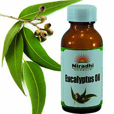 EUCALYPTUS OIL 100% Natural Pure UnDiluted UnCut ESSENTIAL OIL 5ML TO 100ML