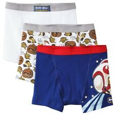 Angry Birds Boys' 3-Pack Boxer Brief - Assorted