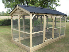 CHICKEN RUN ENCLOSURE ALSO FOR BIRDS,CATS,DOGS,FERRETS,RABBITS,PIGEON