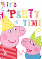 Peppa Pig Picnic Party Invitations with Envelopes 6 - 48pk