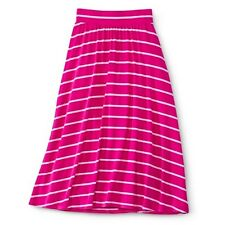 Girls' Striped Maxi Skirt