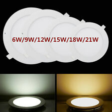 6W/9W/12W/15W/18W/21W Bright CREE LED Ceiling Panel Down Lights Bulb with Driver