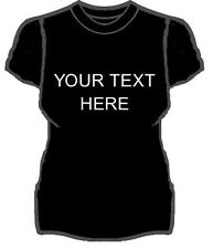PERSONALISED LADIES T-SHIRTS TEXT IMAGE LOGO HEN STAG TEAM PRINTED S M L XL XXL