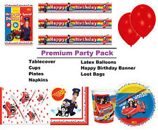 Postman Pat Premium Party Pack for 8 - 48 Guests inc Tableware & Decorations