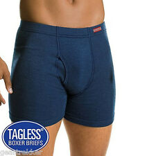 10 PAIRS Hanes Mens TAGLESS Boxer Briefs NEW ComfortSoft Waistband 7460Z5