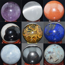 Wholesale Lot Mix Natural Gemstone Sphere Crystal BALL
