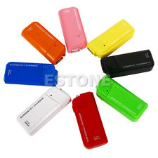 AA Battery Emergency USB Charger With Flashlight For iPhone 3G 3GS 4G iPod New