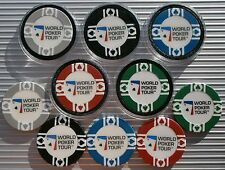 WPT - WORLD POKER TOUR CASINO CHIPS & CARD GUARD/PROTECTORS