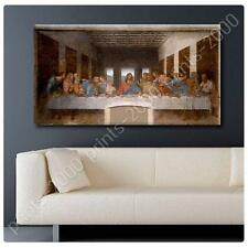 HUGE Canvas Leonardo da Vinci Last Supper poster photos gallery decor prints