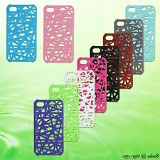 Plastic Bird's Nest Style Back Skin Case Cover Pouch For Apple iPhone 4 4Gen 4S