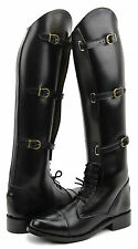 FAMMZ MB1 Women Ladies Horse Riding Motorcycle Police Patrol Leather Tall Boots
