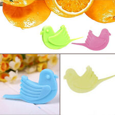2 X Cute Handy Bird Shaped Orange Peel Helper Trip Kitchen Travel Gadget