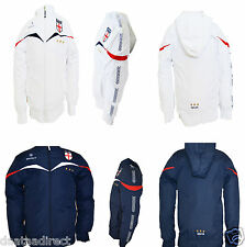 New boy/girl/ junior/kid  England jacket  school,football,sport,white/blue NO 4