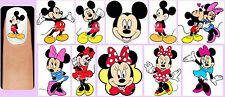 60x MICKEY and MINNIE MOUSE Nail Art Decals + Free Gift Disney