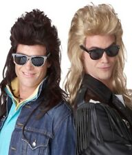80's Rock Mullet Hall and Oates Costume WIG Brown Blonde
