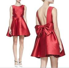NEW $428 KATE SPADE NEW YORK sleeveless mini cocktail dress with large back bow