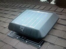 SunRise Solar Attic Vent Fan Flat Base FB1050FT