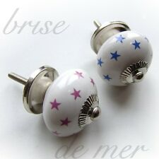 STAR CHILDRENS BEDROOM FURNITURE WALL CUPBOARD DRAWER DOOR HANDLES KNOBS ART