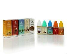 5 x E-Liquid Refills For Shisha and Hookah Pens 10ml Flavours Juice Cig Hangsen
