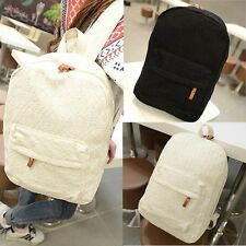 Women's Romantic lace Backpack Student Schoolbag Bookbag ladies travel Tote bag