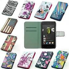 leather case mobile phone cover wallet shell card For Amazon Fire Phone