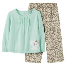 Just One You™Made by Carter's® Infant Toddler Girls' 2 Piece Pajama Set - Gre...