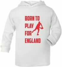Born To Play For England Rugby Cute Present Baby New Born Gift  Supersoft Baby H