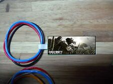 10 sets CALL OF DUTY (SOLDIER IMAGE) birthday party favor bracelets w Custom tag