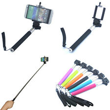 1* Extendable Self Portrait Handheld Stick Monopod Holder For Cell Phone Camera