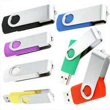 New 100% USB2.0 Metal Flash Memory U-Disk Storage Stick Pen Drive 8GB 16GB 32GB