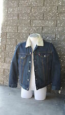 Levi's Denim Sherpa Lined Trucker Jacket - All Sizes